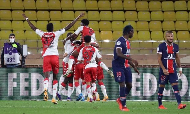 Volland's Brace Eases Monaco's Dramatic Comeback Over PSG