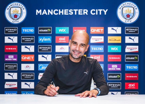 Pep Guardiola Signs a New Manchester City Deal
